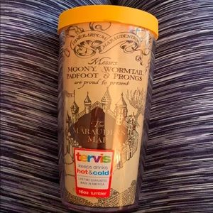 Marauders Map Harry Potter Tervis cup and lid!